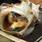 一徳鮨 - さざえつぼ焼き