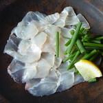 たまごや - 料理写真:スズキのカルパッチョ (カルパッチョランチバージョン)