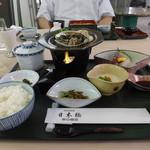 特別食堂 日本橋 - 鮑帆立御膳