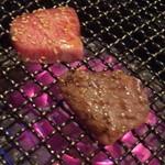 肉家焼肉ゑびす本廛 - 肉厚なカルビ!口でとろけます!