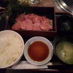 肉家焼肉ゑびす本廛 - 本気カルビランチ980円!