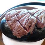 四季亭 - 牛フィレ肉の石焼