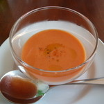 19667920 - パプリカの冷製スープ