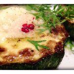 ラ・パスタイオーネ - キングズッキーニのビステッカ ピエモンテ産トーマチーズをのせて