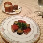 マルシェ - 今晩はビーフシチューコース3,150円を40分で完食20130623