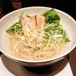 亀戸らぁ麺 零や - 塩そば(700円)