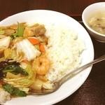 聚福楼 - 中華丼
