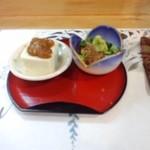 19673064 - おとおし・マグロづけともろみ豆腐