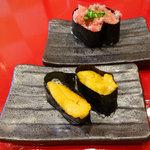 あっぱれ寿司 - 「ねぎとろ」と「うに」