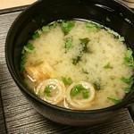 和楽 - お味噌汁♪