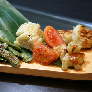 厳選素材・地方野菜を使用◎それぞれに適した調理法で焼き上げ〼