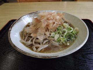 石勝食堂 - 「辛味おろしそばR―15」550円  しぼりです。