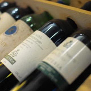 ワインセラーを完備しております。種類豊富なワインをご用意してお待ちしております。