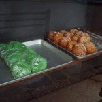 19682115 - 草餅とアンドーナツ
