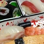 千鳥寿司 - 朝食べたのでちょっと硬かった(^_^;)
