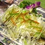中華招福 - 大魚一尾姿蒸しの葱油かけ1枚
