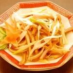 中華招福 - 豚耳と葱和え 480円