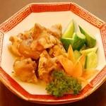 中華招福 - 豚足と胡瓜和え 580円