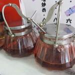 満福 - 自家製っぽい辣油