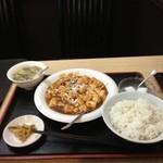 19685282 - 麻婆豆腐定食