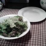 Tapas - 前菜のサラダ