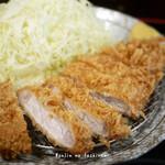 八戒 - 料理写真:ロース定食