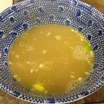 六厘舎 - スープ割り