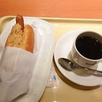 ドトールコーヒーショップ - おはようございます!サウザンコールスロードックの朝セット430円(^^)