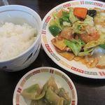 台湾飯店 - 回鍋肉セット