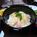 はやふね - 料理写真:鯛のゴマダレ漬茶漬け御膳