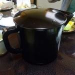 はやふね - お茶漬けのだし汁