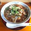 里 - 料理写真:牛すじ ねぎラーメン ¥600なり