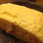 三重人 - 天然ハマグリの出汁巻き玉子
