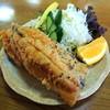 吉野観光 - 料理写真:2013年6月23日(日) 釣り上げたちょっとビックサイズのニジマスを唐揚げにしていただきました(400円)