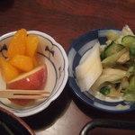 うなぎ 三由 - 漬物・フルーツ