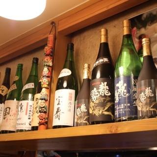 広島地酒各種とりそろえております。