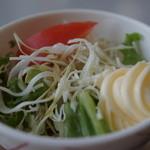寒地土木研究所食堂 - サラダ