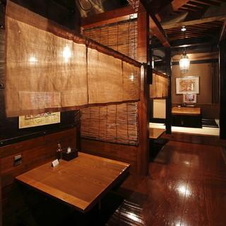 個室やテラス席、様々なお席でごゆっくり&お気軽にどうぞ!