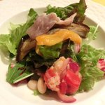 19698669 - <'13/06/20撮影>プランツォA 1000円 のサラダ前菜