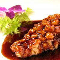 全聚徳 - 鮮魚の甘酢ソースがけ(半身)