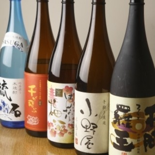 日本酒好きの料理長厳選!