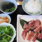 焼肉 幸楽 - カルビランチ(998円)