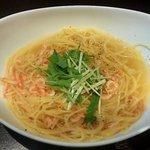 カフェ プランタン - 桜エビのスープスパゲッティ