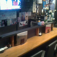 居酒屋 闘勝花 - カウンターは8席!TV観戦できます&お喋り好きなマスターから攻撃されることも・・・(笑