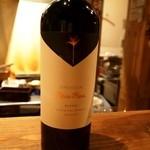 ワインちゃん 瓦・町・路・地 - おまかせの赤ワイン