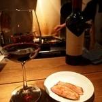 ワインちゃん 瓦・町・路・地 - 肉には赤っすよねぇ