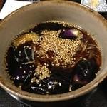 つけ汁うどん 野澤 - 茄子汁うどん(680円)