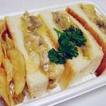ジョークマン - クロックムッシュ 700円 マスターのお手製ですw これ美味かったぁ~(^ω^)