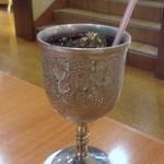 19702071 - 聖杯のような器に入ったアイスコーヒー☆