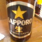 らぁめん たむら - ビール(サッポロ~)